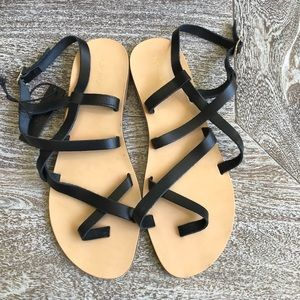 TopShop Hiccup Leather Sandal